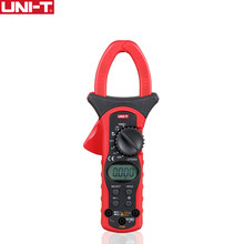 UNIT UT205A Auto Range 1000A Digital Clamp Meters Multimeters Voltmeter with LCD Backlight LCD Electrical Multimeter(China)