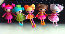 3PCS/LOT MGA Lalaloopsy 3inch Mini Dolls For Girl's PlayHouse Toy Each Unique brinquedos(China)