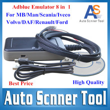 Adblue Emulator 8 in 1 V3.0  Diagnostic  Truck Heavy Ad blue Remove Tool for MB/MAN/Scania/Iveco/DAF/Volv o/Renault