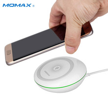 MOMAX Q.Dock 9V QC2.0 Qi Fast Wireless Charger Quick Charging Dock for Samsung Galaxy S7 Etc No-wire Charge Stand(China)
