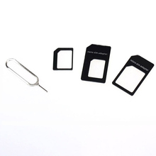 Best Price New Arrivlas Convert Nano SIM Card to Micro Standard Adapter For iPhone 5wholesale&New fashion Suppion(China)