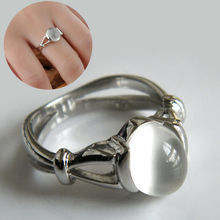 Vintage Vampire Movies Jewelry Rings The Twilight Bella Moonstone Ring For Women Valentine Gift CX60