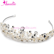Mixed Style Assorted Sample Order 3pcs Lot Vintage Inspired Bridal Wedding Hair Accessories Tiara Headband for Veils
