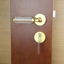 UNILOCKS New European crystal door lock one set(China)