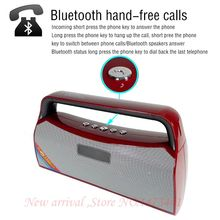 portable super bass bluetooth speaker with fm radio tf usb mp3 music player boombox aux mobile phone pc speaker rechargeable