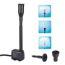 400L/H 7W Submersible Water Pump Mini Fountain for Aquarium Fish Tank Pond Outdoor Garden Hydroponics AC120V