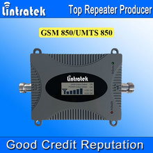 Lintratek 3G UMTS 850 MHz Repetidor Sinal Celular LCD Display GSM 850 Mobile Phone Signal Repeater Mini Size 3G Signal Booster /
