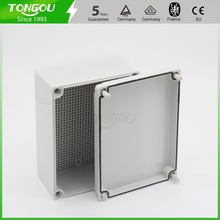 IP67 200*150*100 mm waterproof junction box Free customized trepanning 3 holes plastic control panel box(China)