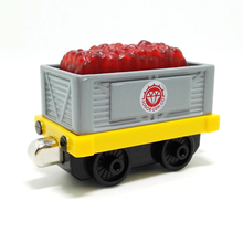 m006 New Thomas and friend diecast magnetic alloy Children's toy train sodor gem co Ruby transport trucks Limited Edition(China)