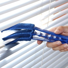 1 pcs High quality Window Air Conditioner Duster Dirt Clean Cleaner Microfibre Venetian Blind Washable Brush Supplies