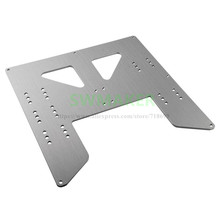 Anet A8 Y-Carriage upgrade plate Anet A8 A6 3D Printer Upgrade Y Carriage Anodized Aluminum Plate(China)