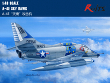 RealTS Hobbyboss 81764 1/48 A-4E Sky Hawk plastic model Aircraft kit hobby boss(China)
