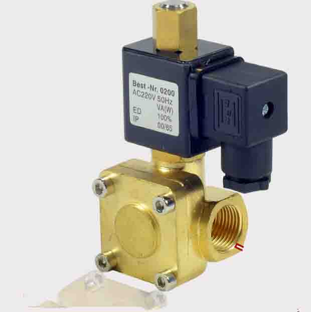 1/4 normally open 2/2 Way General Purpose air,water,gas,oil pneumatic control solenoid valves<br>