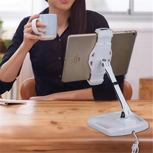 Universal 360 Rotating Lazy Desktop Base For Tablet PC Mobile Phone Holder New tablet holder Mount Stand For iPad For Samsung(China)