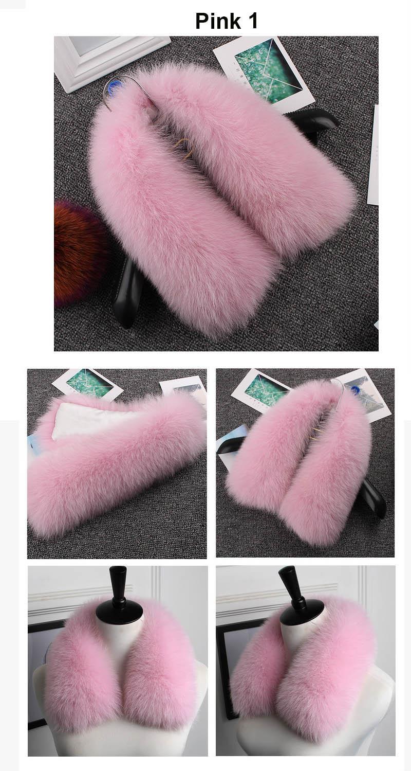 fox fur collar pink 1