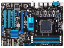 Used,For Asus M5A97 PLUS Desktop Motherboard 970 Socket AM3 DDR3 SATA3 USB2.0(China)