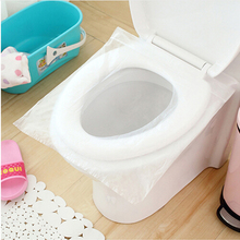 10Pcs/lot Travel disposable toilet seat cover mat 100% waterproof toilet paper pad(China)