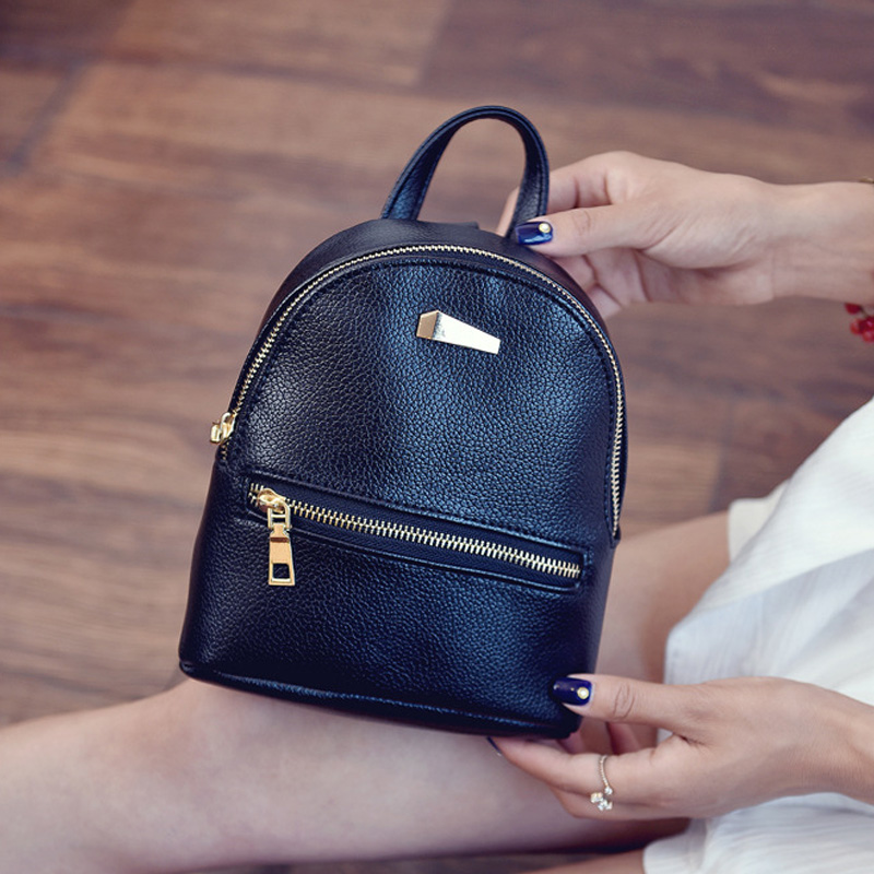 Popular Cute Small Leather Backpack-Buy Cheap Cute Small Leather ...