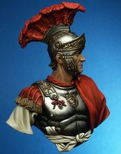 New Unassembled  1/10 Roman Knight soldier bust 1/10   figure  Resin Kit DIY Toys Unpainted kits