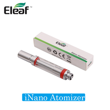 Original Eleaf iNano Atomizer Top Filling System for Eleaf iNano Kit 0.8ml eCig Vape iNano Tank for 650mAh Battery(China)