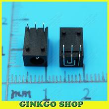 50pcs/lot DC043 Commun laptop dc power jack for Tablet, Mini Pad,Computer 4.5*1.65mm 3 DIP Pins Free Shipping