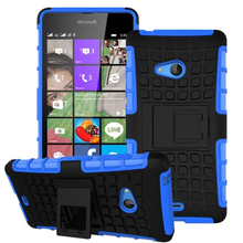 For Nokia Lumia 540 Case Hard Phone Case For Nokia 540 N540 Heavy Duty Armor Shockproof Hybrid Silicone Rugged Rubber Cover
