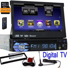 Music one din TV Auto Radio Car DVD Player Navigation Autoradio GPS Stereo Audio MP5 1 din System Digital TV RDS Accessory FM