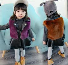 Factory direct winter new fashion 0-3 year old girl plus velvet dress