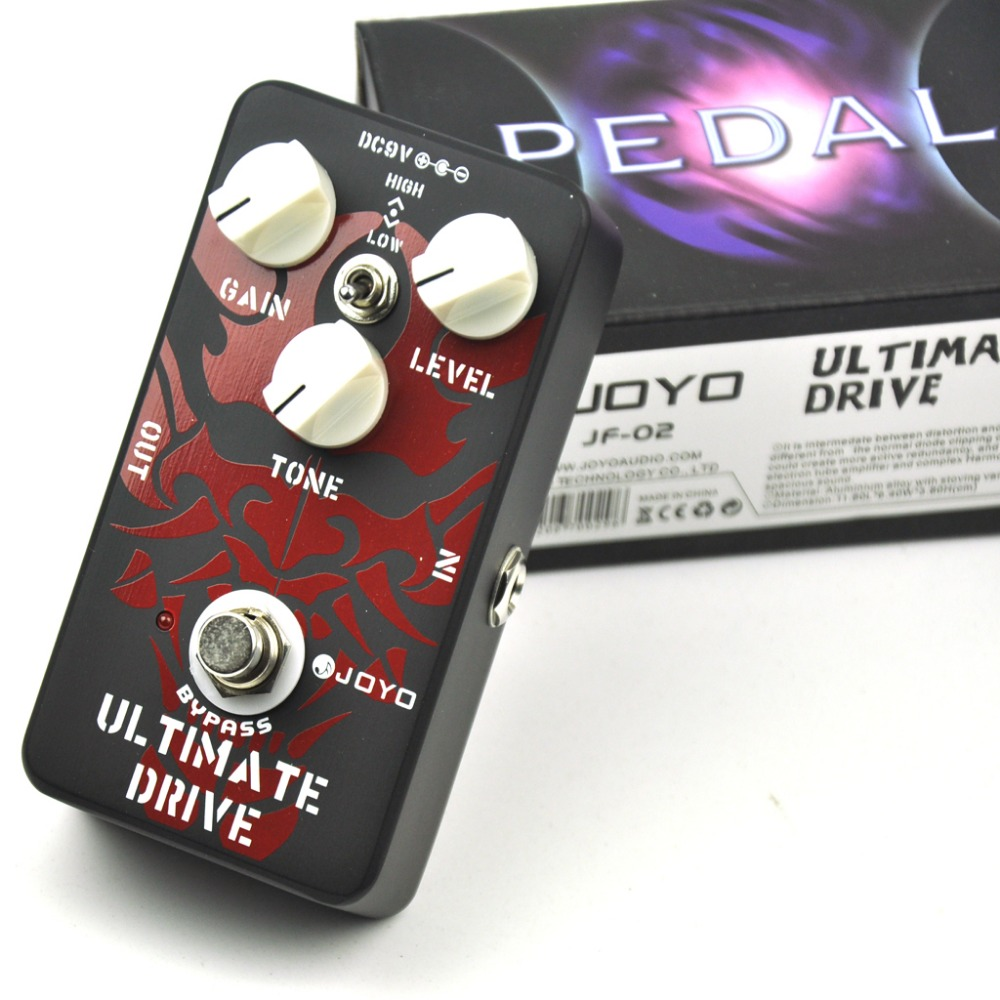 JF-02 Ultimate Drive Electric Guitar Effect Pedal with True Bypass<br>