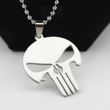 Skull Necklaces For Women Men Silver Ball Chain Stainless Steel Pendant Fashion Movie Jewelry Accessories Choker