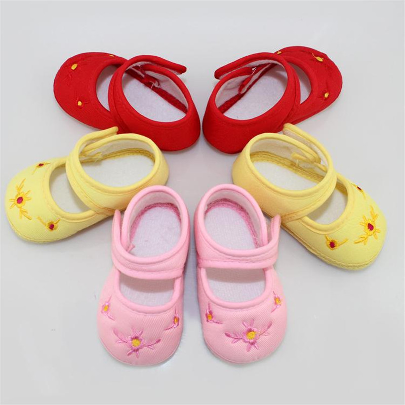 New Cotton  Baby Shoes Toddler Soft Sole Skid-proof First Walkers Shoes Kids infant Baby Shoes 3 Colors<br><br>Aliexpress