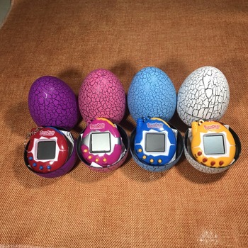 AOSST Design Dinosaur egg Virtual Cyber Pet Game Toy
