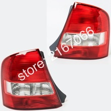 2pcs Tail Lights for MAZDA FAMILIA / 323 1998 1999 2000 2001 2002 SEDAN PROTEGE Rear Lamps Pair Left + Right