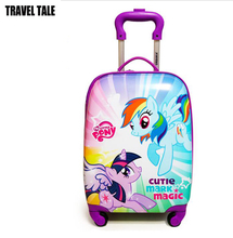 TRAVEL TALE Children's cartoon trolley suitcase girl student suitcase kids luggage