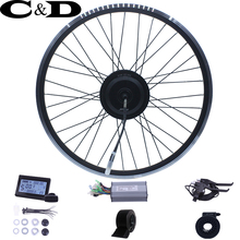 ebike kit Electric bike conversion kit 36V 350W 48V 500W XF 15F 15R motor MXUS brand without battery LED LCD display optional(China)