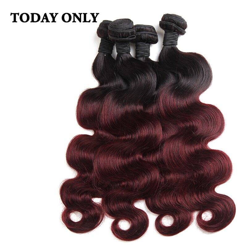 8A Ombre Brazilian Hair Body 4 Bundles Brazilian Body Wave Ombre Human Hair Weave  Brazilian Virgin Hair Ombre Hair Extensions<br><br>Aliexpress
