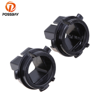POSSBAY 1Pair Automobiles Car H7 Xenon HID Bulbs Adapters Holders Base For Kia K5 Car Light Cover Base(China)