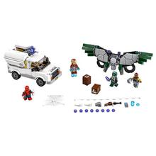 LEPIN 76083 Super Heroes Series Beware Vultures Building Blocks Toy DIY Educational Kids Toys For Children