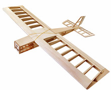 Buy RC Plane Laser Cut Balsa Wood Airplane NEW Stick Frame without Cover Wingspan 1060mm Balsa Wood Model Building Kit for $48.99 in AliExpress store
