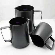 Teflon set stainless steel milk fancy coffee cup pointed mouth appliance garland cylinder mugs(China)