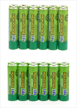 Russia hot sell! 48 PCS a set! 24PCS 900mWh 1.6V Volt AAA 3A & 24 PSC AA 2500mah AA 2A NiZn Rechargeable Battery(China)