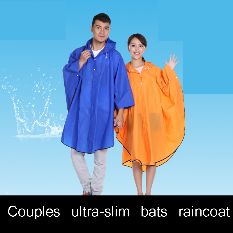 Eva Transparent Raincoat Men Poncho Waterproof Regenponcho Camping Raincoat Women Rain Coat Men Raincoats QQG244