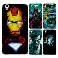 "For Umi London 5.0"" Charming Case Cover Marvel Avengers Captain America Shield Iron man Spiderman Perfect Fundas For Umi London"