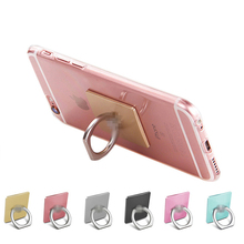 360 Degree Finger Ring Holder Mobile Phone Stand Universal Ring Hook Bracket For iPhone 7 6s ipad iPod GPS car mount stand
