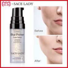 SACE DAME Blur Primer Make-Up Basis 6 ml Gesicht 24 karat Gold Elixir Oil Control Professionelle Matte Make-Up Poren marke Foundation Primer(China)