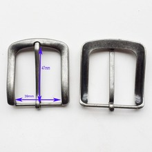 "1-9/16""(40MM) Leathercraft Hardware antique silver single Pins alloy Belt Buckle,bag buckle,garment accessories,bag fasteners"