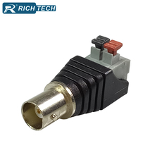 BNC Jack Balun Terminal 5pcs CCTV Camera Passive Video Balun BNC Socket Connector Cat5 CCTV UTP Video Female BNC Balun