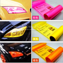 40x100CM Car headlights Auto Car Light Headlight Taillight Vinyl Film Sticker Transparent Film Car Light Color change(China)