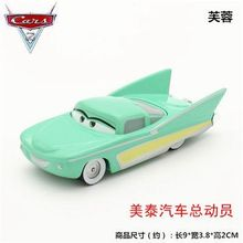 In Stock Pixar car 2 Flo Diecast Metal 1:48 cars metal Brio Cute Cartoon Movie Toys For Children Gifts 1 PCS