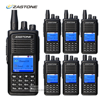 6pcs Zastone ZT-D900 Digital Mobile Radio VHF 136-174MHz 1000CH 2000mAh 5W Walkie Talkie DMR Two Way Radio SMS Function
